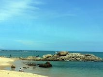 巴伊亚海滩 免版税库存照片