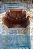 巴伊亚马拉喀什宫殿 免版税图库摄影