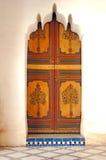 巴伊亚马拉喀什马拉喀什摩洛哥宫殿 库存图片