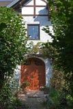 巴伐利亚人外部房子 免版税图库摄影