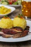巴伐利亚人烤猪肉 库存照片