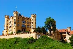 巴伐利亚在neuschwanstein附近的城堡堡垒 免版税库存图片