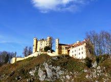 巴伐利亚城堡老德国hohenschwangau 库存图片