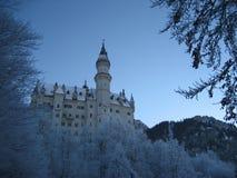 巴伐利亚城堡 免版税库存图片