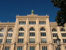 巴伐利亚大厦政府较大 库存照片