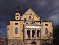 巴伐利亚教会deggendorf himmelfahrt玛丽亚 库存图片