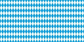 巴伐利亚旗子背景蓝色和白色 向量例证