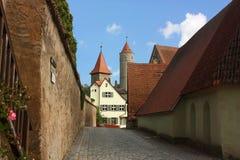 巴伐利亚dinkelsbuhl德国 免版税库存图片