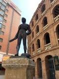 巴伦西亚plaza de toros 库存图片