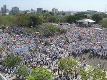 巴兰基利亚抗议s 免版税库存图片