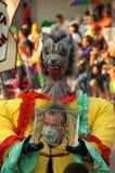 巴兰基利亚狂欢节哥伦比亚游行 库存照片