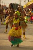 巴兰基利亚狂欢节哥伦比亚游行 免版税库存图片