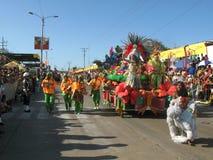 巴兰基利亚carnaval s 库存照片