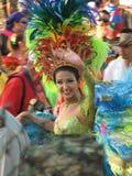 巴兰基利亚carnaval s 免版税库存图片