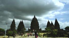巴兰班南寺庙和游人时间间隔英尺长度  影视素材