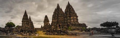 巴兰班南,日惹, Java,印度尼西亚 免版税图库摄影