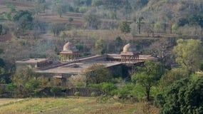 巴兹巴哈杜尔宫殿Mandu印度 库存照片