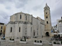 巴列塔- Cattedrale二圣马里亚马焦雷 图库摄影