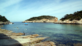 巴利阿ibiza海岛islas西班牙 库存图片