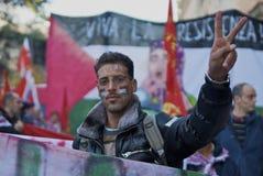 巴勒斯坦和平 库存图片