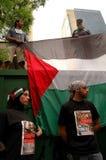 巴勒斯坦支持者 免版税库存图片