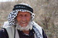 巴勒斯坦村民 图库摄影