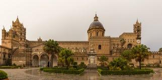 巴勒莫大教堂复合体 库存照片