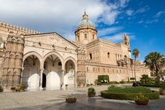 巴勒莫大教堂是大教堂教会天主教 库存图片