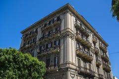 巴勒莫市历史老建筑学 库存照片