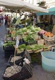 巴勒莫蔬菜水果商  库存图片
