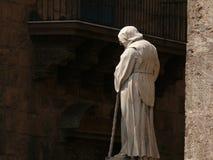 巴勒莫,西西里岛,意大利 11/04/2010 大教堂,sculp的看法 库存照片