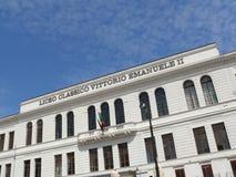巴勒莫,西西里岛,意大利 11/04/2010 维托里奥・埃曼努埃莱・迪・萨伏伊II经典之作 免版税库存图片