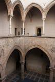 巴勒莫, Palazzo Chiaramonte Steri 免版税图库摄影