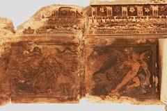 巴勒贝克-古老腓尼基城市废墟  免版税图库摄影