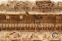 巴勒贝克-古老腓尼基城市废墟  库存照片
