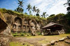 巴厘岛中央寺庙 免版税库存照片