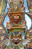 巴厘岛仪式火葬 库存图片