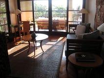 巴厘岛内部别墅 库存图片
