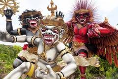 巴厘岛印度尼西亚ogoh雕象 库存照片
