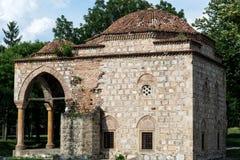 巴厘岛土侯无背长椅清真寺,非常老文化纪念碑 图库摄影