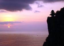 巴厘岛场面 库存照片