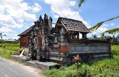 巴厘岛寺庙 库存照片