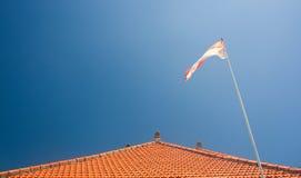 巴厘岛屋顶s 库存图片