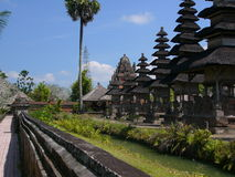 巴厘岛接地寺庙 免版税图库摄影