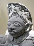 巴厘岛接近的雕象 免版税库存照片