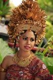 巴厘岛新娘 免版税库存图片
