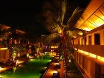 巴厘岛旅馆 库存照片