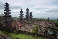 巴厘岛母亲寺庙 图库摄影