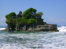 巴厘岛海岛寺庙 图库摄影