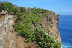 巴厘岛海岸 免版税库存照片